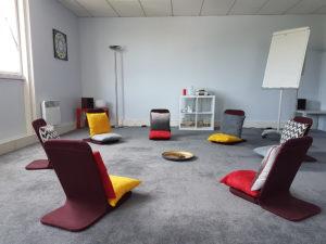 Salle de travail de 50 m2