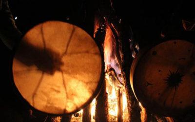 Roue de médecine et Nuit du feu